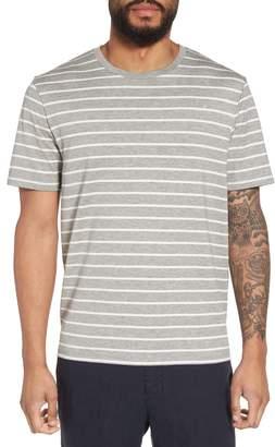 Vince Slim Fit Heathered Stripe T-Shirt