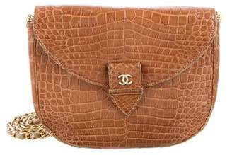 82d1a051a4ab Chanel Crocodile Flap Bag