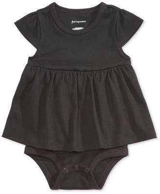 First Impressions Cotton Bodysuit Dress, Baby Girls