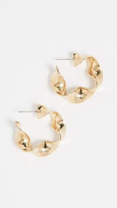 Soko Joy Mini Statement Hoop Earrings