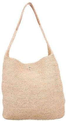 Helen Kaminski Woven Raffia Shoulder Bag