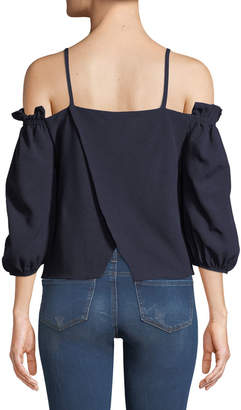 Soul Harmony Energy Smocked Off-The-Shoulder Blouse