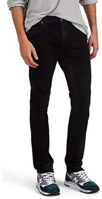 RtA MEN'S COATED SKINNY JEANS - BLACK SIZE 30