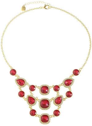 MONET JEWELRY Monet Jewelry Womens Red Statement Necklace