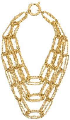 Rosantica tri chain-link necklace