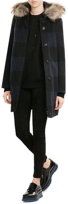 Woolrich Down Coat with Fur-Trimmed Hood $949 thestylecure.com