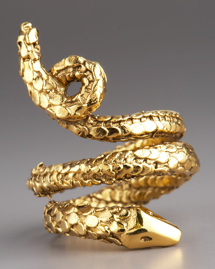 Aurelie Bidermann Snake Ring