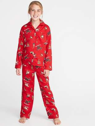 Old Navy Holiday-Graphic Sleep Set for Girls