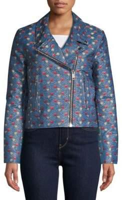 Isabel Marant Jacquard Moto Jacket