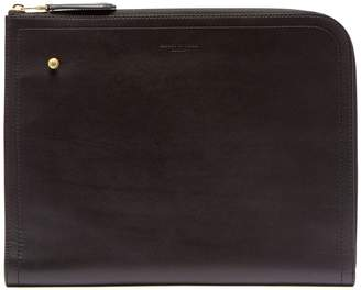 Dunhill Duke large leather zip-around document holder