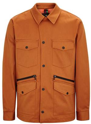 Paul Smith Brown Cotton Blend Field Jacket