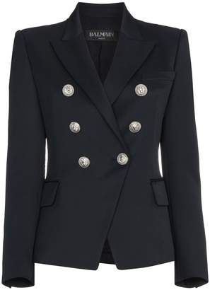 Balmain Marine double-breasted blazer