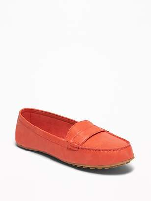 Old Navy Faux-Leather Driving Moccasins for Women