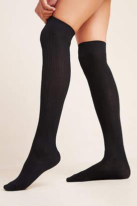 Hansel from Basel Ribbed Thigh-High Socks