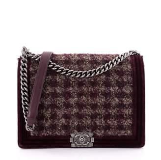 Chanel Red Leather Handbag