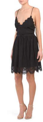Australian Designed Scalloped Hem Dress