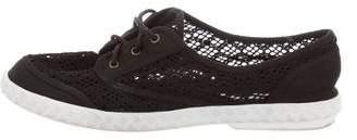Diane von Furstenberg Bea Crochet Sneakers