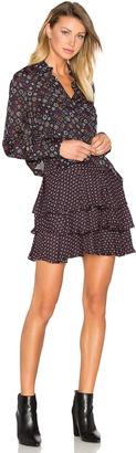DEREK LAM 10 CROSBY 2-in-1 Ruffle Shirt Dress $695 thestylecure.com
