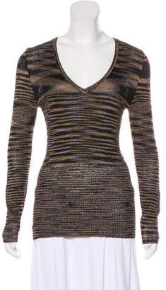 Anna Sui Long Sleeve Knit Top