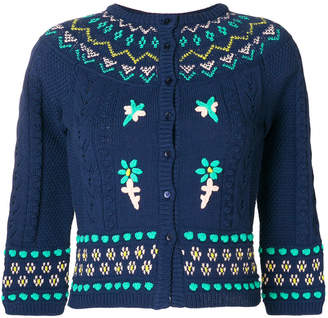 M Missoni knitted button cardigan