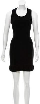 Alexandre Herchcovitch Sleeveless Mini Dress
