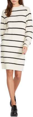 Volcom So Far, So Good Stripe Sweater Dress