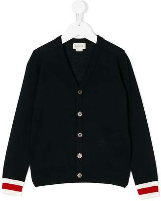 Gucci Kids V-neck cardigan