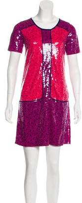 Marc by Marc Jacobs Sequined Mini Dress