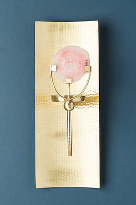 Anthropologie Crystallized Sconce