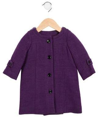 Burberry Girls' Collarless Coat