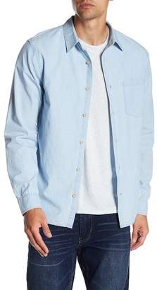 Joe's Jeans Sanchez Chambray Long Sleeve Regular Fit Shirt