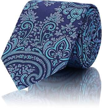 Barneys New York Men's Paisley Silk Twill Necktie
