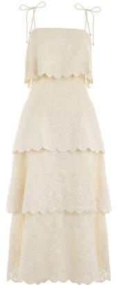 Zimmermann Primrose Embroidered Dress
