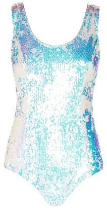 Balmain Sequin Embellished Bodysuit
