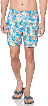 Original Penguin REVERSIBLE DOMINO SWIM SHORT