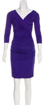Diane von Furstenberg Bentley Ruched Dress w/ Tags