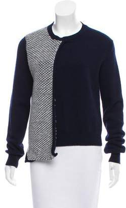Alexander Lewis Paneled Wool Sweater