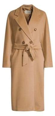 Max Mara Madame Wool& Cashmere Double Breasted Jacket