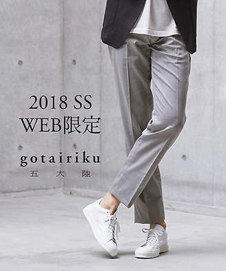 gotairiku (五大陸) - [五大陸] クールモーション コットンパンツ(PPGOYM0650)