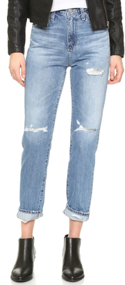 AG The Phoebe High Waisted Jeans $245 thestylecure.com