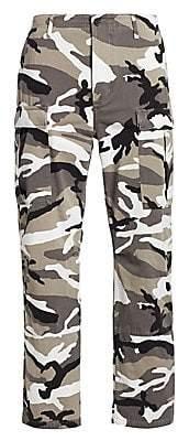 Balenciaga Men's Camouflage-Print Pants