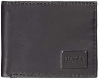 Kenneth Cole Reaction Men Passcase Zipper Leather Wallet