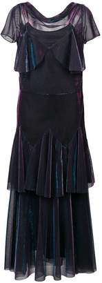 Maison Margiela tiered maxi dress