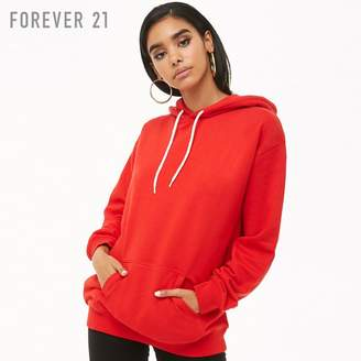 Forever 21 (フォーエバー 21) - Forever 21 オーバーサイズフレンチテリーパーカー