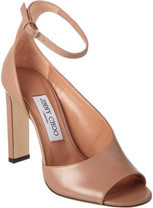 ff55c994071b at Rue La La · Jimmy Choo Theresa 100 Leather Sandal