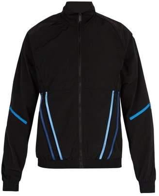 Cottweiler Signature 3.0 Contrast Trim Shell Track Jacket - Mens - Black