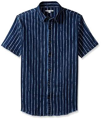 Threads 4 Thought Men's Sustainable Denim Short Sleeve Shirt