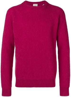 Eleventy long-sleeve fitted sweater