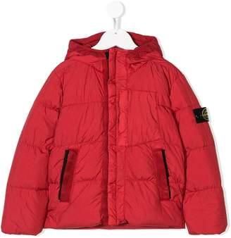 Stone Island Junior padded coat