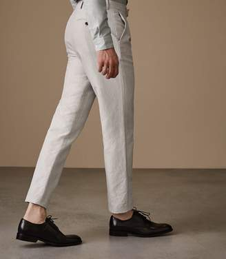 Reiss Chilwa T Slim Fit Cotton Blend Trousers